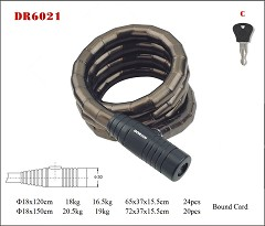 DR6021 Spiral Cable Lock